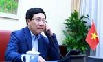 Bộ trưởng Phạm Bình Minh điện đàm với Ngoại trưởng Mỹ Mike Pompeo