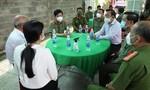 Thứ trưởng Bộ Công an thăm gia đình liệt sĩ Lê Huỳnh Nhật Minh