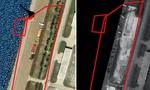 Lộ hình ảnh Trung Quốc tiếp tục xây công trình phi pháp trên đá Vành Khăn