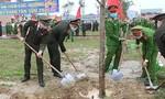 Công an nhiều đơn vị, địa phương phát động Tết trồng cây Xuân Tân Sửu