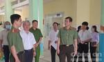 Thiếu tướng Lê Hồng Nam kiểm tra công tác bảo vệ bầu cử tại huyện Nhà Bè
