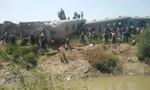 Tai nạn tàu hỏa nghiêm trọng ở Ai Cập, ít nhất 32 người thiệt mạng