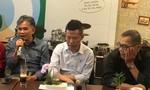 Nhạc sĩ Bảo Chấn, Quốc Bảo và Văn Tuấn Anh thực hiện đĩa than chung