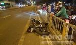 Phóng nhanh trong làn ôtô, thanh niên ngã xe tử vong ở Sài Gòn