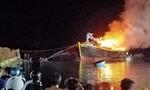 2 tàu cá của 1 hộ dân ở Bà Rịa - Vũng Tàu cháy rụi, thiệt hại 3 tỷ đồng
