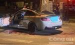 Hai người bị chém tới tấp vì đi ô tô BMW pô xe nổ to