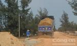 Quảng Trị: Xe chở đất phục vụ công trình chạy rầm rập, người dân bức xúc