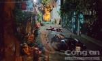 Xe máy chở 3 ôm cua lao vào tường, 2 người chết, 1 người nguy kịch