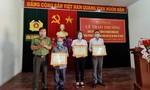 Trao Bằng khen của Bộ trưởng Tô Lâm tặng 3 hộ dân hiến đất xây trụ sở Công an