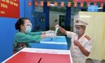 Đến chiều 23/5, nhiều tỉnh đã đạt trên 90% cử tri đi bỏ phiếu