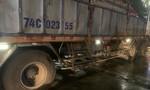 """Xe tải tông xe máy khiến 1 người chết, 1 người bị """"kéo lê"""" 20 km... thoát chết"""