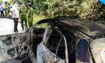 Phát hiện thi thể tài xế cháy đen trên xe taxi 4 chỗ của Mai Linh