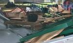 Quảng Trị: Mưa kèm lốc quật ngã nhiều nhà và lán trại kiểm soát dịch bệnh