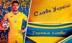 Tuyển Ukraine phải sửa áo thi đấu vì mang thông điệp chính trị