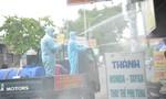 Bốn tuyến đường ở TP.Thủ Đức được phun thuốc khử khuẩn chống Covid-19