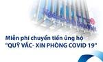 Bản Việt miễn phí chuyển khoản online và tại quầy ủng hộ Quỹ vắc-xin