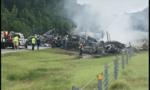 Mỹ: Tông xe liên hoàn vì trời bão, ít nhất 10 người chết