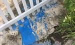 Nhóm thanh niên nhiều lần đe dọa, tạt sơn vào nhà cha mẹ con nợ
