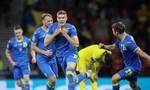 'Thần may mắn' giúp Ukraine lần đầu vào tứ kết Euro