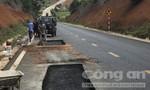 Đường gần 850 tỷ đồng mới sử dụng đã hư: Hoàn thành sửa chữa