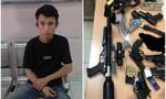 """Đột kích """"kho"""" súng đạn của gã thanh niên ở Sài Gòn"""