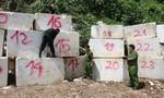 Phát hiện vụ khai thác trái phép đá trắng quy mô lớn ở Nghệ An