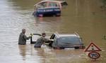 Lũ lụt tàn phá trên diện rộng ở Châu Âu, gần 200 người chết