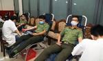 Hơn 200 CBCS Công an hiến máu cứu người trong đợt dịch Covid-19