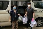 Những bó rau nghĩa tình của người dân Thanh Bình, Chợ Gạo