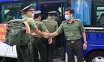 70 cán bộ, học viên Trường cao đẳng ANND 1 hỗ trợ Đồng Nai chống dịch