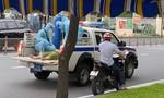 Công an chặn xe mượn bình oxy, ống thở cứu F0 nguy cấp giữa đường