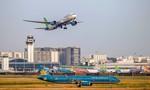 Đưa vào khai thác 2 đường lăn mới sửa chữa ở sân bay Tân Sơn Nhất