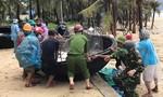 Công an, Bộ đội khẩn trương, căng mình giúp dân ứng phó bão số 5