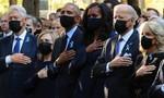 Chùm ảnh: Phút mặc niệm và những giọt nước mắt trong lễ tưởng niệm 11-9