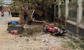 Thanh niên thoát chết thần kỳ khi xe máy lao vào gốc cây