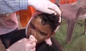 Clip lễ hội ném đá khiến hơn 100 người bị thương ở Ấn Độ