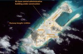 Trung Quốc gần hoàn tất việc xây đường băng trái phép trên đá Chữ Thập