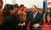 Thủ tướng Nguyễn Xuân Phúc dự Lễ xuất quân bảo vệ APEC 2017