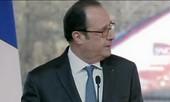 Cảnh sát Pháp bắn tỉa nhầm ngay lúc tổng thống phát biểu