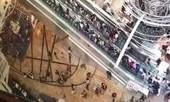 CLIP: Thang cuốn đột nhiên tăng tốc, khiến 18 người bị thương