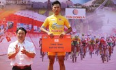 Chặng 4 giải xe đạp truyền hình TP.HCM-Tôn Đông Á:  Hồ Vũ  tiếp tục giữ áo vàng