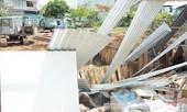 Sẽ đình chỉ thi công công trình làm sập dãy trọ tại Nhà Bè