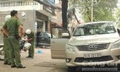CSTT quận 3 phạt xe biển xanh đậu sai trước trụ sở thanh tra thành phố
