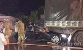Xe tải tông ô tô của công an, 2 sĩ quan tử vong