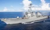 Tàu chiến Mỹ gặp nạn tại Singapore