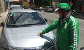 Gần 10 ô tô đậu trên đường bị đập phá ở TP.HCM