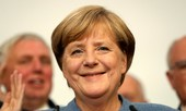 Bà Merkel đắc cử thủ tướng Đức lần thứ tư liên tiếp
