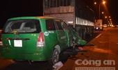 Taxi đâm đuôi xe tải trên cầu Cần Thơ, 3 người tử vong