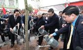 Tổng Bí thư Nguyễn Phú Trọng tham gia Tết trồng cây