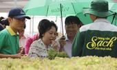 Đại biểu Quốc hội ăn rau tại vườn để kiểm chứng an toàn